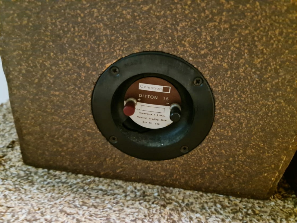 RARE Vintage Celestion Ditton 15 Speakers Celest16