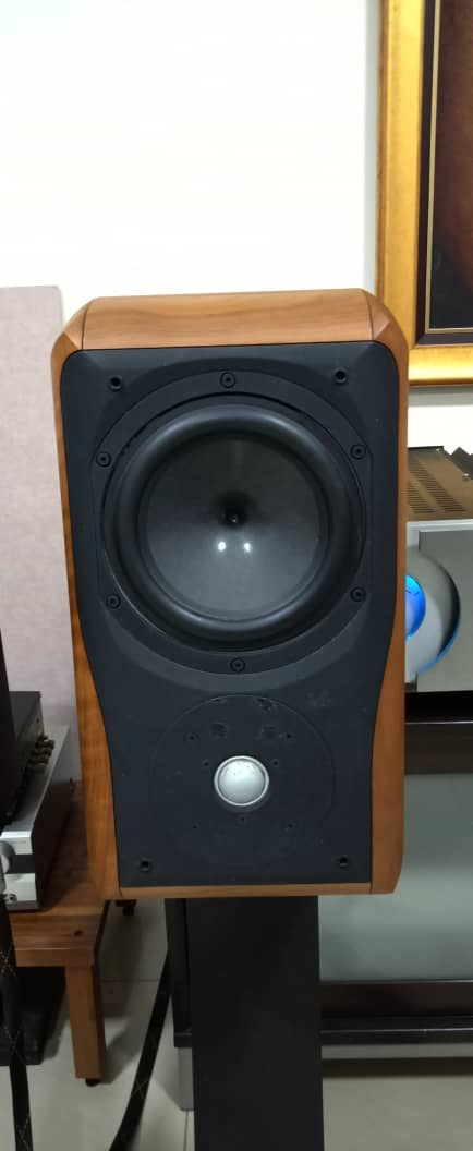 Chario Academy Sonnet Loudspeakers With Original Stands Chario14