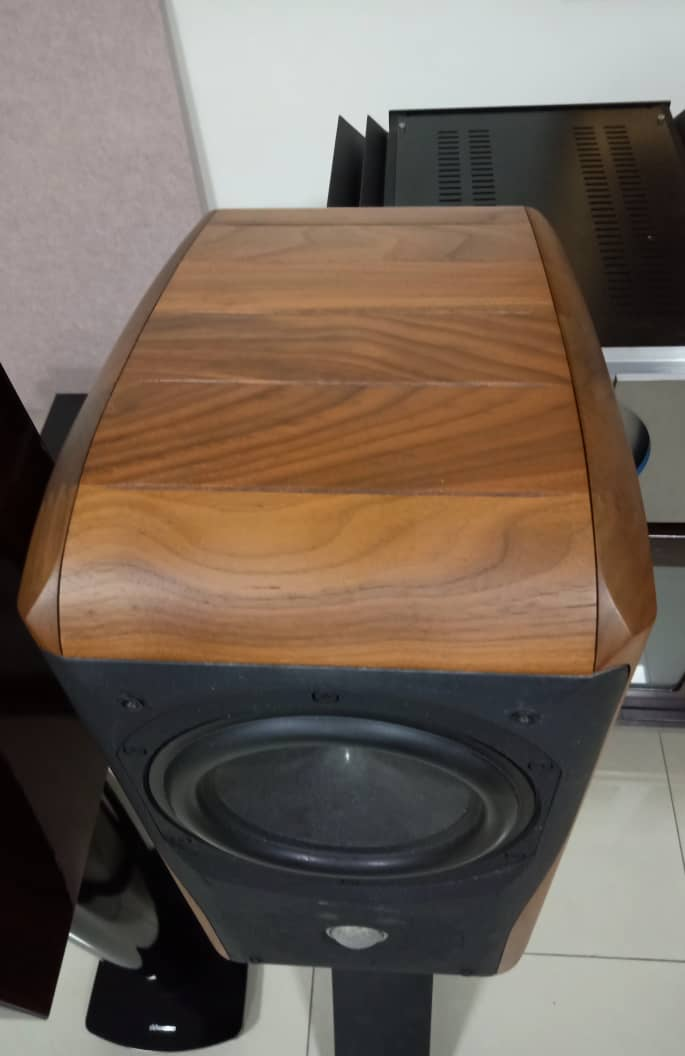 Chario Academy Sonnet Loudspeakers With Original Stands Chario15