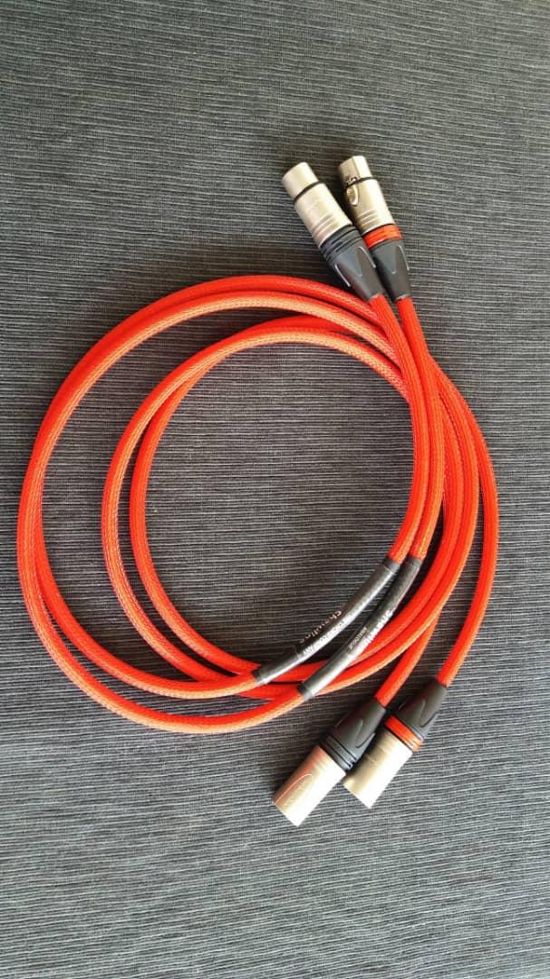 The Chord Co. Shawline XLR Interconnects - 1.5m Chord311