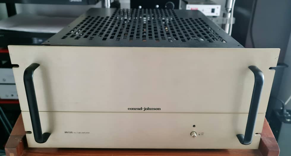 Conrad Johnson MV-125 Tube Power Amplifier Cjmv1215