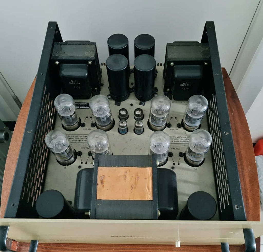 Conrad Johnson MV-125 Tube Power Amplifier Cjmv1217
