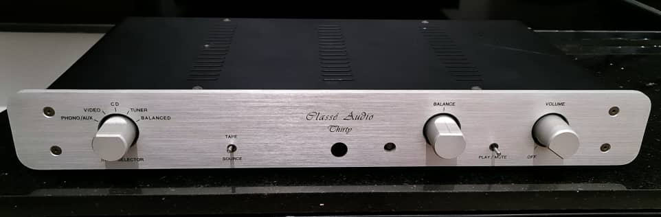 SOLD Classé Thirty Preamp with Phonostage Classe10