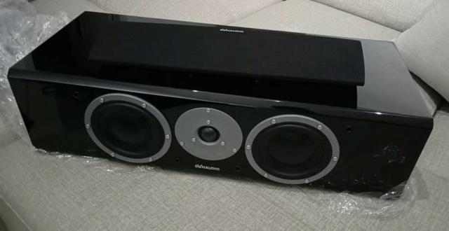 Dynaudio Focus 210C Centre Speaker - Piano Black Gloss D115