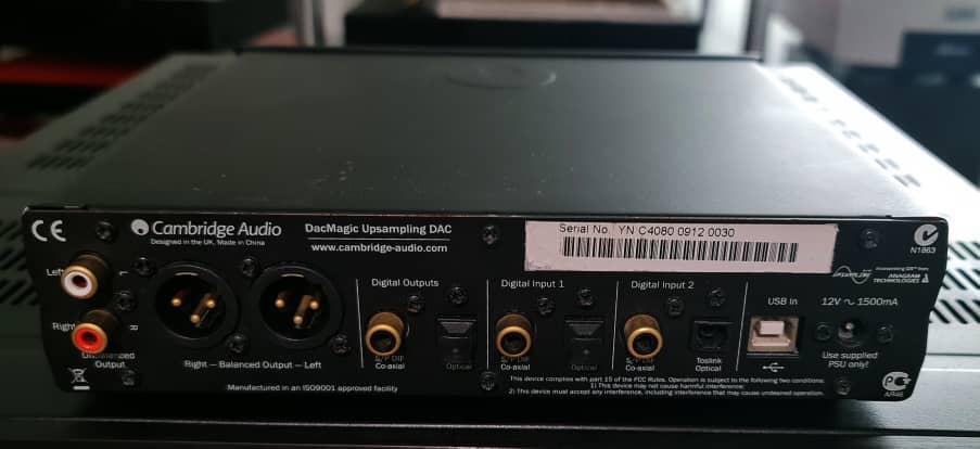 DACs: TEAC, Audiolab, Audio Research DAC9, Cambridge Audio, etc Dacmag10