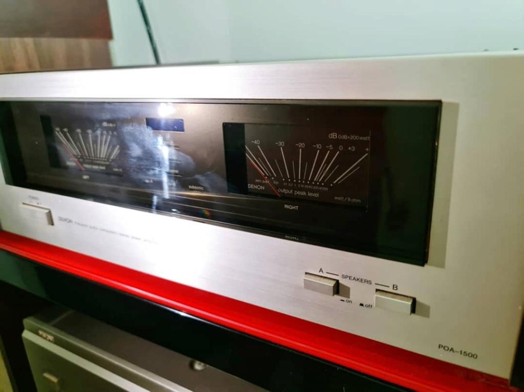 Denon POA-1500 Stereo Power Amplifier Denonp11