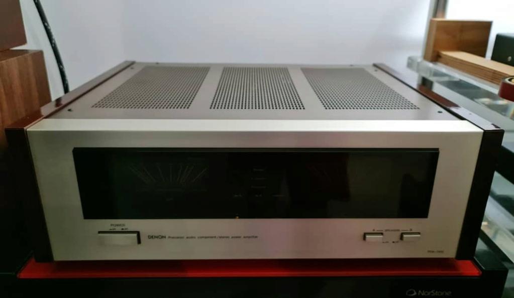 Denon POA-1500 Stereo Power Amplifier Denonp17