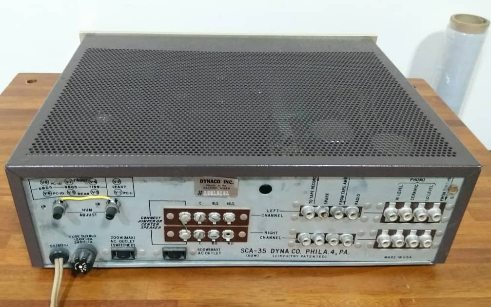Dynaco SCA 35 Tube Integrated Amplifier