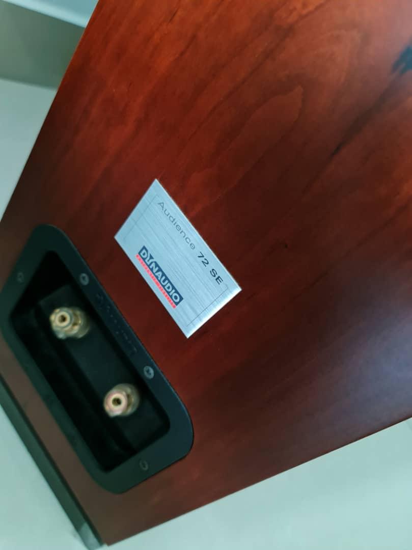 Dynaudio Audience 72 SE Floorstand Speakers + Other Items Dynaud49