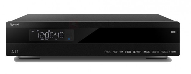 Egreat A11 Professional 4K Bluray Media Player Egreat10