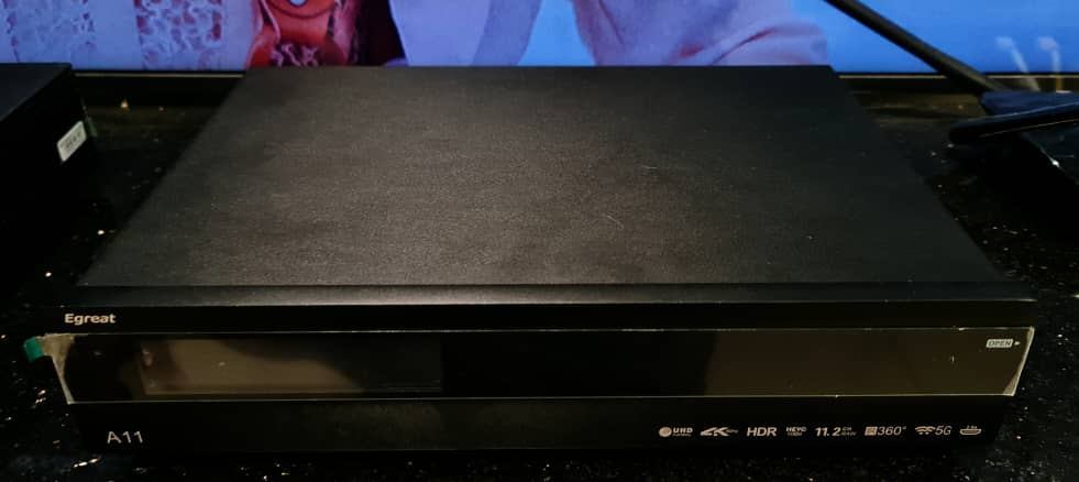 Egreat A11 Professional 4K Bluray Media Player Egreat11