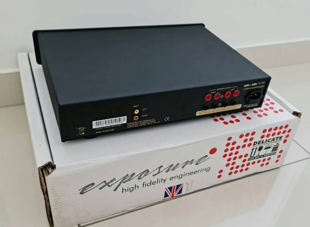 SOLD Exposure 2010S2 Power Amplifier Exposu18