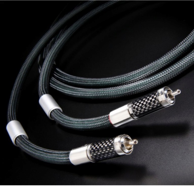Furutech Lineflux RCA High-End Interconnect Cable 1.2M Pr F412