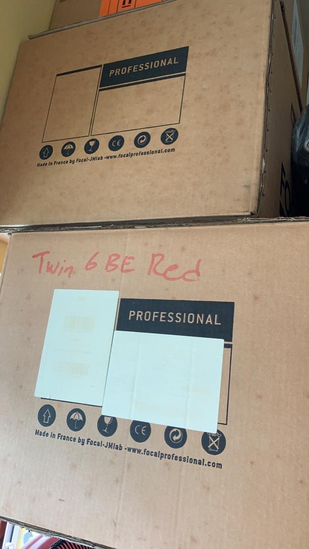 Focal Twin6 Be 6.5 inch 3-way Powered Studio Monitor (2 x 150W) Focal310