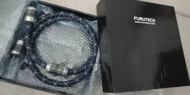 Furutech NanoFlux Power Cord - 1.8m Furute10