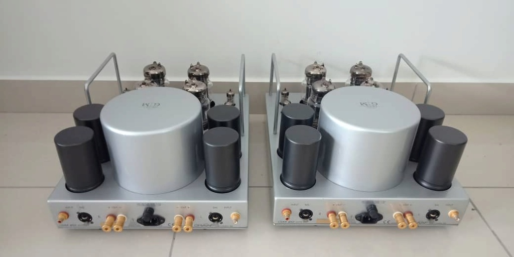 Graaf GM20 OTL Modena Monoblocks Tube Power Amplifier (1 pair) G212
