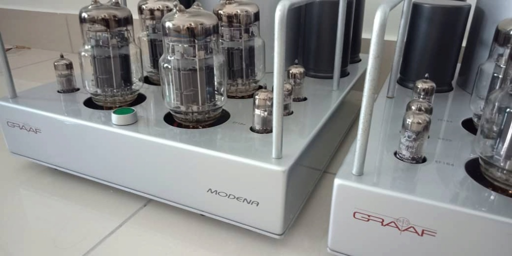 Graaf GM20 OTL Modena Monoblocks Tube Power Amplifier (1 pair) G710