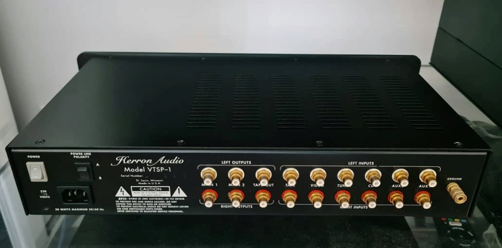 Herron Audio VTSP-1 Preamplifier by Keith Herron Herron13