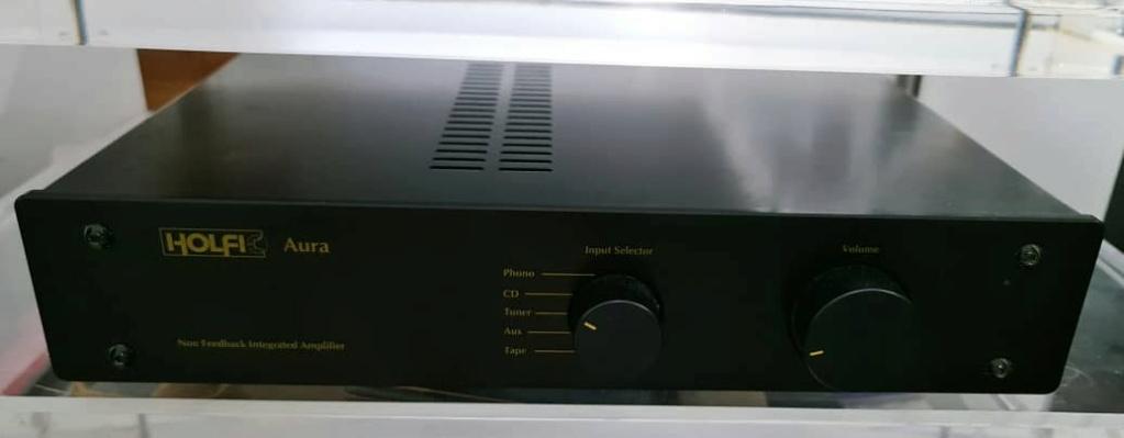 Holfi Integrated,Onkyo TX-NR828 7.2-channel, Mission MS-800 Subwoofer   Holfi110