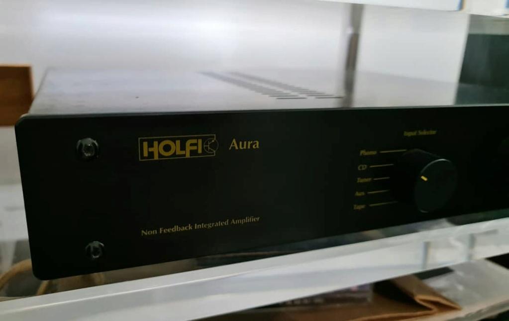 Holfi Integrated,Onkyo TX-NR828 7.2-channel, Mission MS-800 Subwoofer   Holfi210