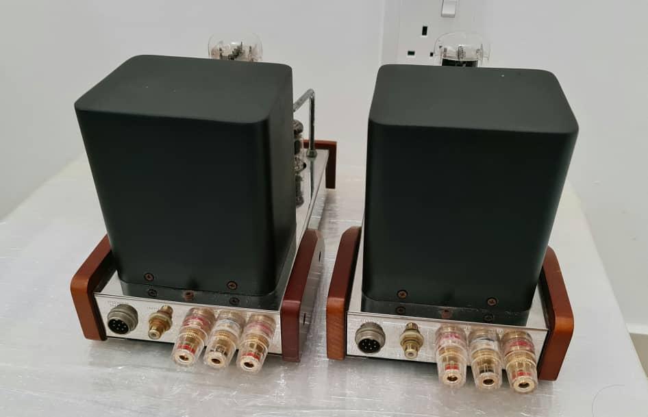 SOLD Dared Mini VP-300B Mono Power Amplifiers Jared510
