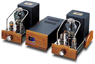 SOLD Dared Mini VP-300B Mono Power Amplifiers Jared710