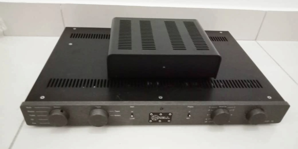 Krell KSP 7B Class A Dual-Mono Preamplifier with Phono Stage K112