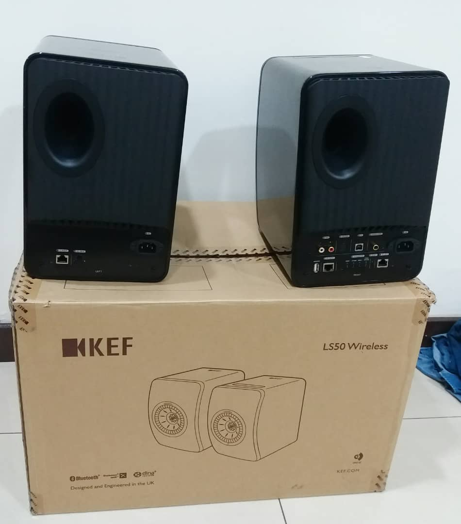 KEF LS50 Active Wireless speakers Kef110
