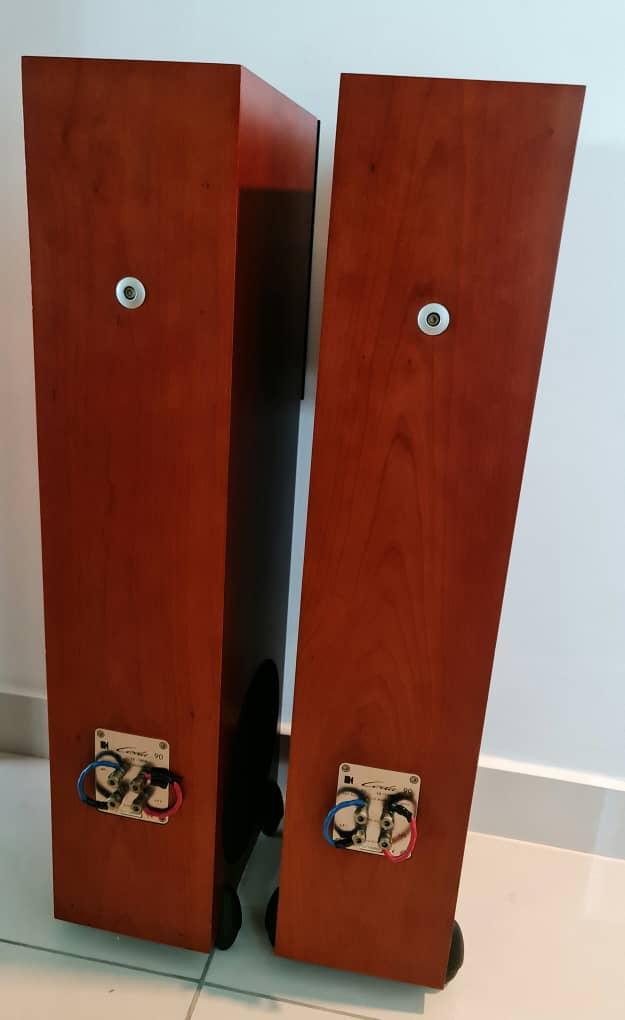 SOLD KEF Coda 90 Floor standing Speakers Kefcod20