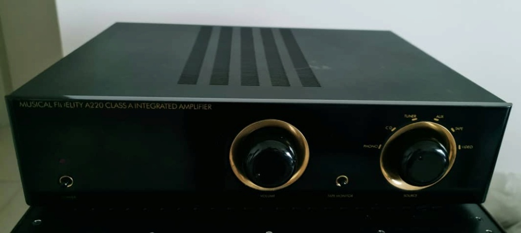 Musical Fidelity A-220 Class A Integrated Amplifier Mfa22011