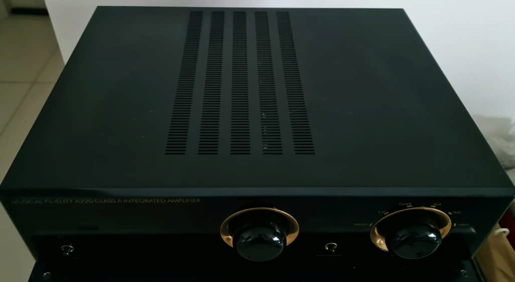 Musical Fidelity A-220 Class A Integrated Amplifier Mfa22012