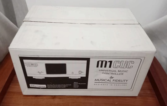Musical Fidelity M1 CLiC Universal Music Controller / Network Player /Streamer/ Pre-Amplifier Mfclic13