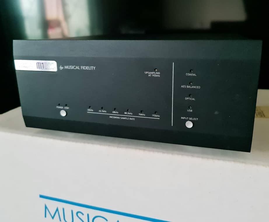 Musical Fidelity M1 DAC 24bit/192khz Mfdac311
