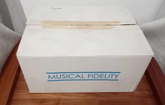 Musical Fidelity M1 PWR Power Amplifier Mfp110