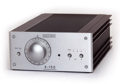 Music Fidelity X-150 Integrated Amplifier Mfx15010