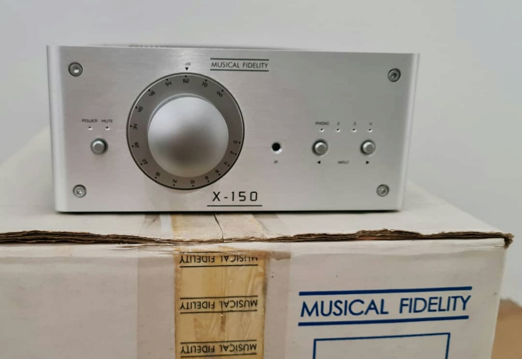 Music Fidelity X-150 Integrated Amplifier Mfx15013