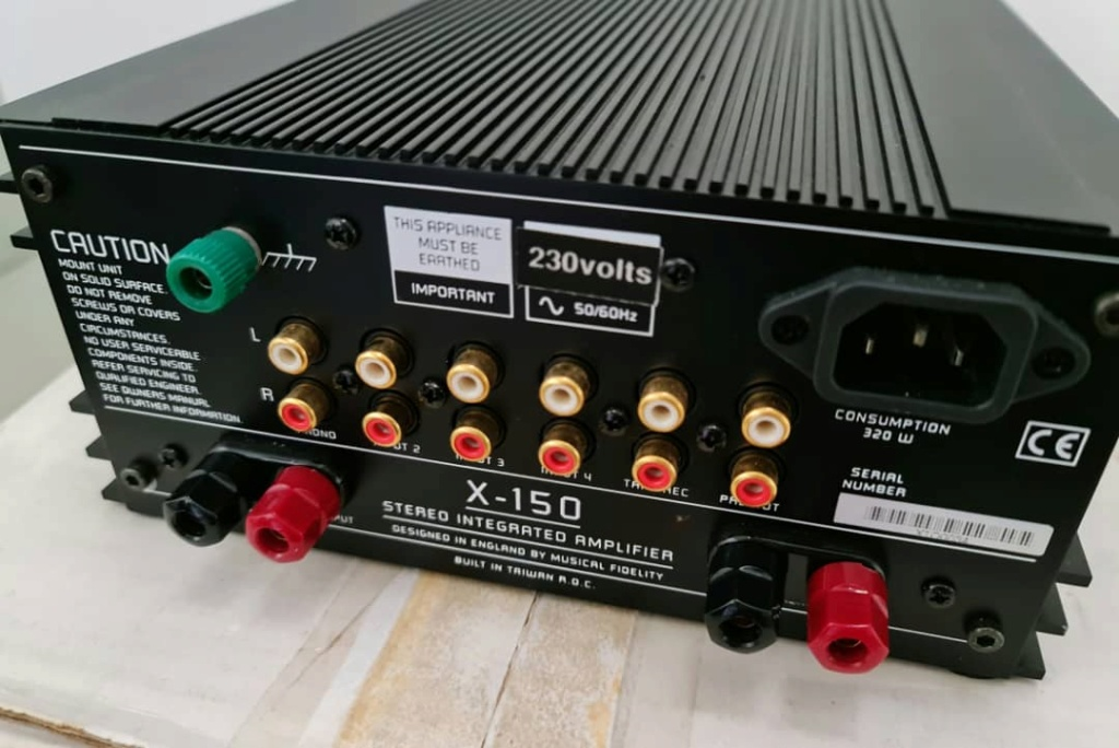 Music Fidelity X-150 Integrated Amplifier Mfx15016