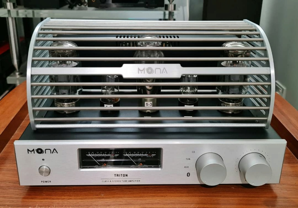 MONA A1 Class A KT120 Tube Single-Ended Integrated Amplifier With Bluetooth 5.0 Mona410
