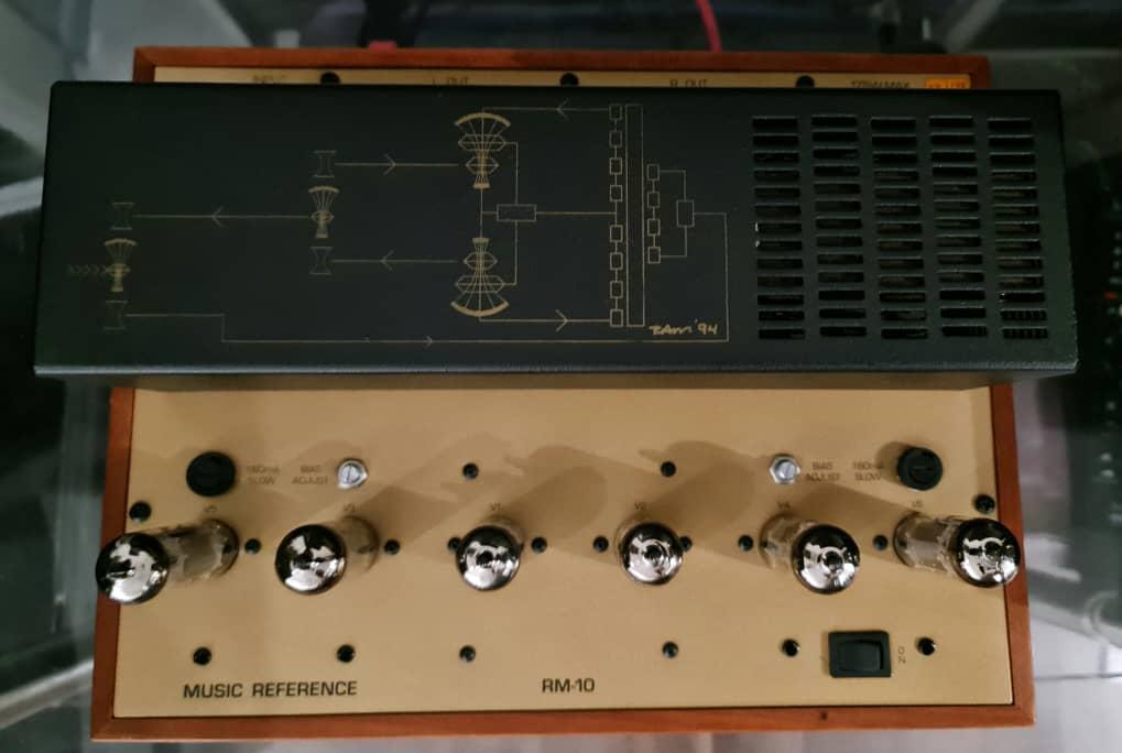 Roger Modjeski's Music Reference RM-10 Stereo Tube Power Amplifier Mr10b10