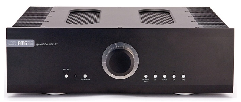 Musical Fidelity AMS35i Integrated Amplifier with Pure Class A Dual Mono Power Stages Musica10