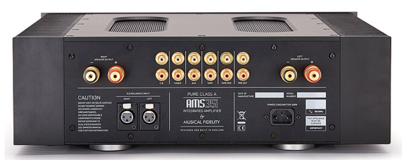 Musical Fidelity AMS35i Integrated Amplifier with Pure Class A Dual Mono Power Stages Musica11