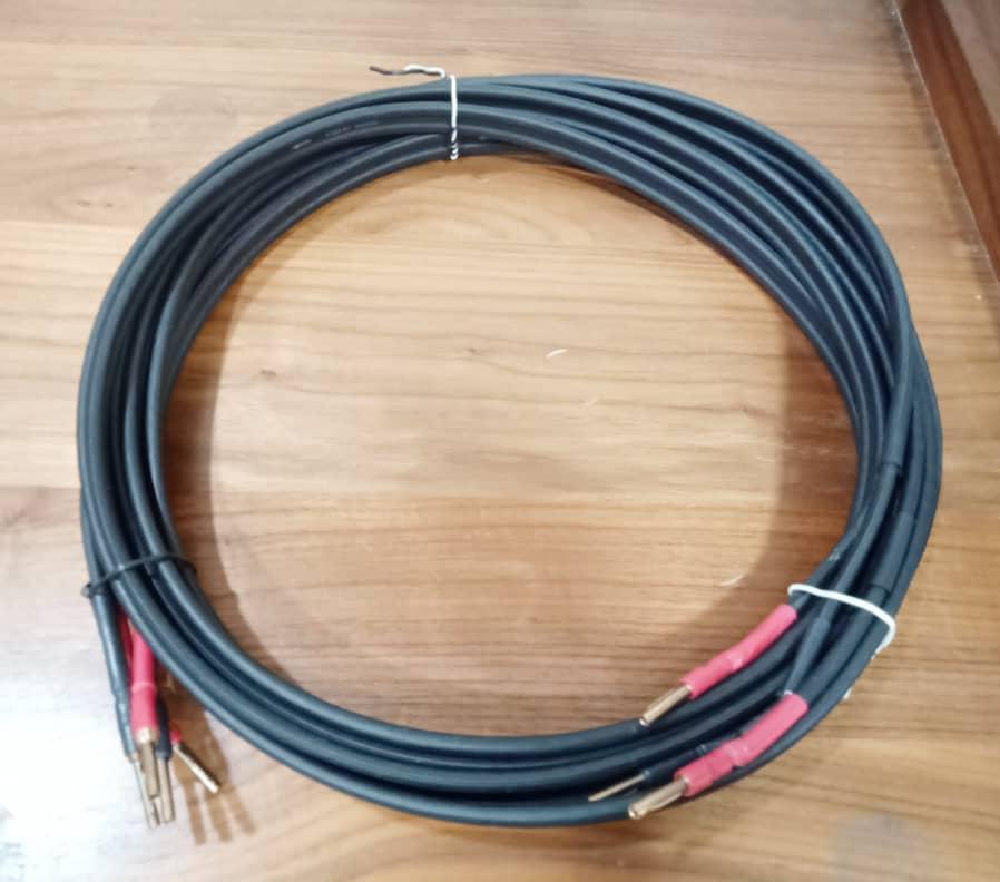 Naim Naca 5 Speaker Cables - 4m pair N113