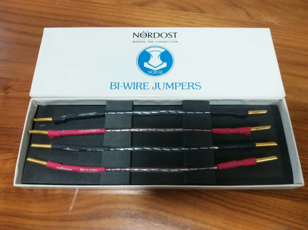 Nordost Norse Series Bi-Wire Jumpers N114