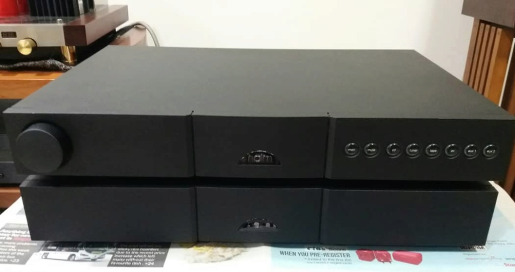 Naim 122x Pre Amplifier & Naim 150X Power Amplifier Set N117