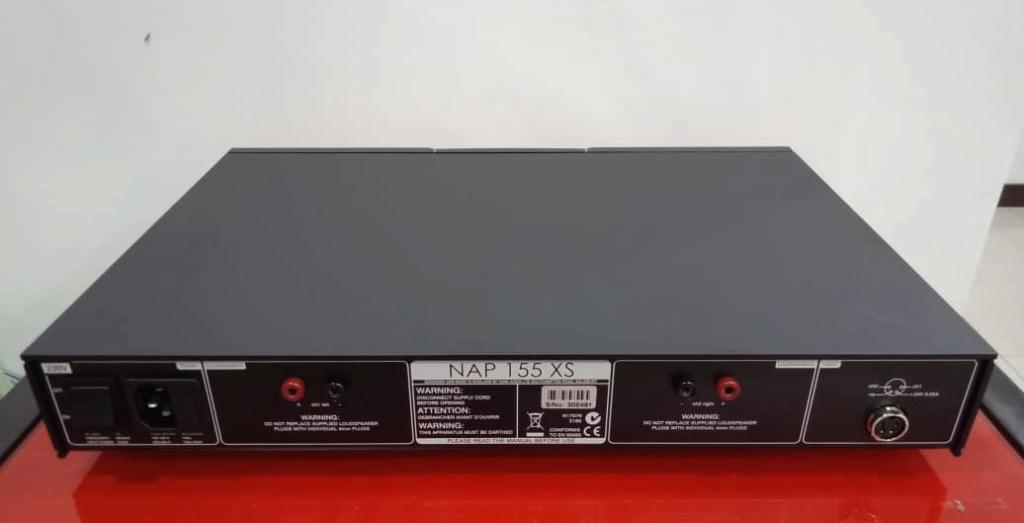 NAIM NAC 152 XS & NAP 155 XS Pre / Power Set N412