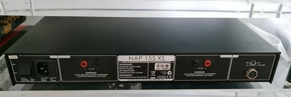 Naim NAC 202 Pre Amplifier, Naim NAP-155xs Power Amplifier & Naim NAPSC Power Supply Naim1511