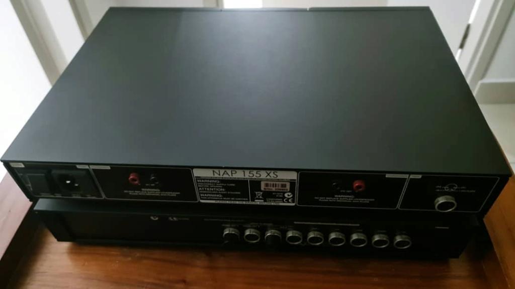 Naim NAC 112 Pre-amp and  Naim NAP-155xs Power Amplifier Naim311