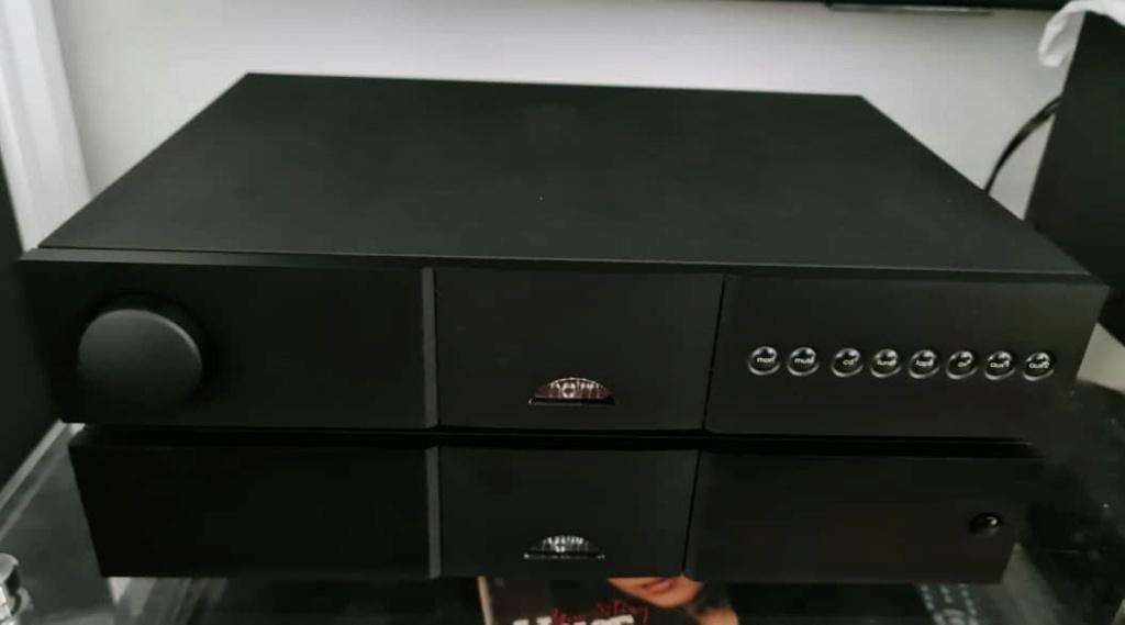 Naim NAC 202 Pre Amplifier, Naim NAP-155xs Power Amplifier & Naim NAPSC Power Supply Naimna16