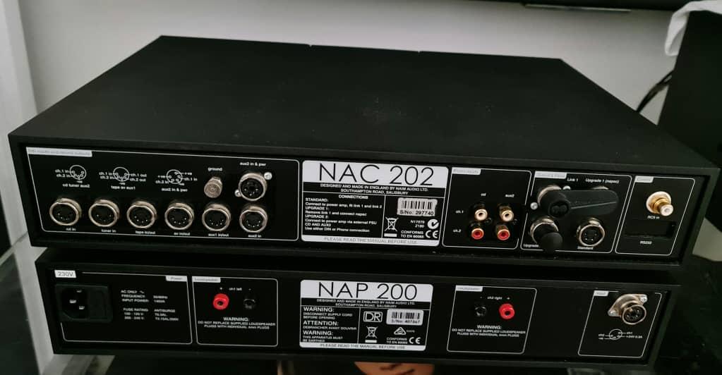 Naim NAC 202 Pre Amplifier, Naim NAP-155xs Power Amplifier & Naim NAPSC Power Supply Naimna17