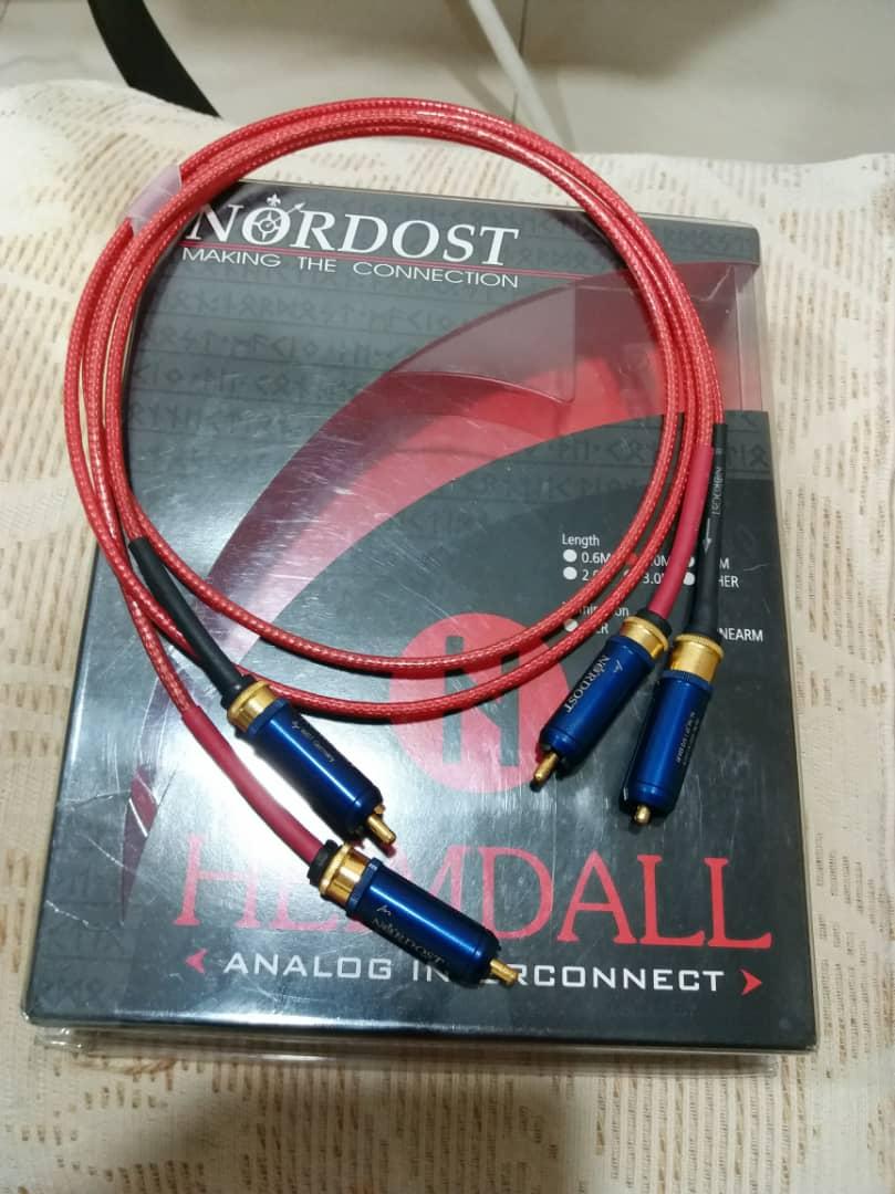 Nordost Heimdall RCA Interconnect - 1m Nordos13